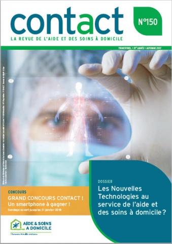 Contact 150: Les nouvelles technologies au service de l'aide et des soins à domicile?